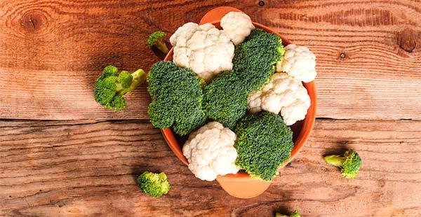 Brócolis e Couve