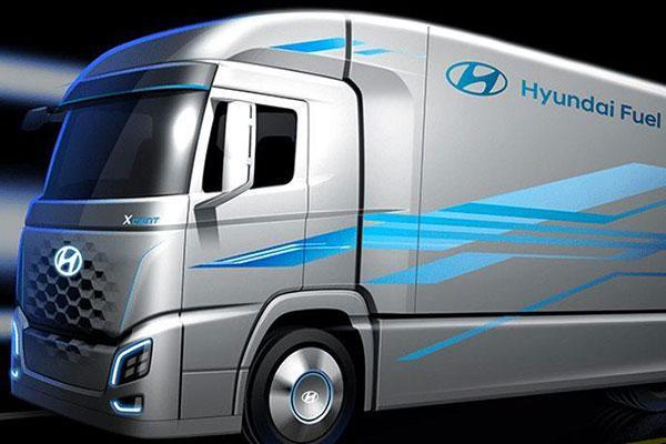 caminhão hidrogênio