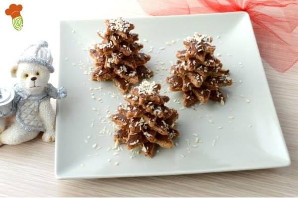 biscoitos caseiros árvore natal