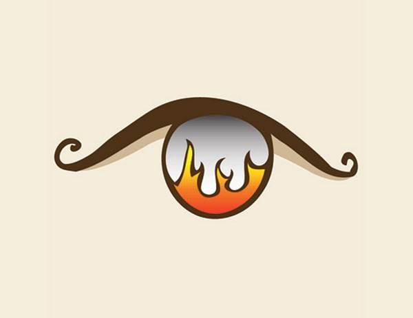 olho fogo