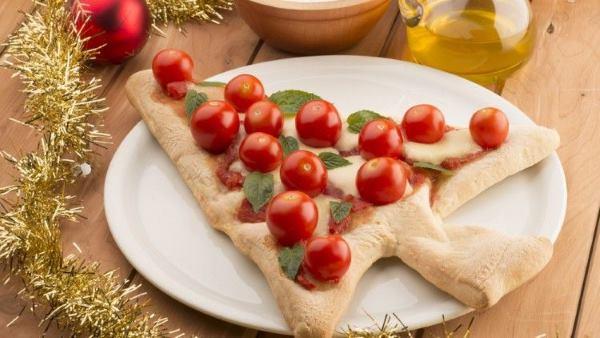 pizza árvore natal
