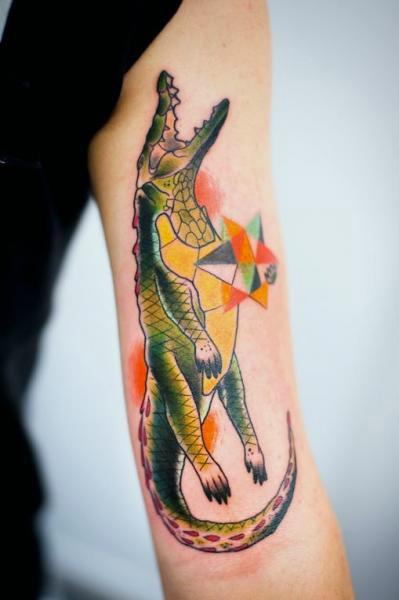 jacare tattoo