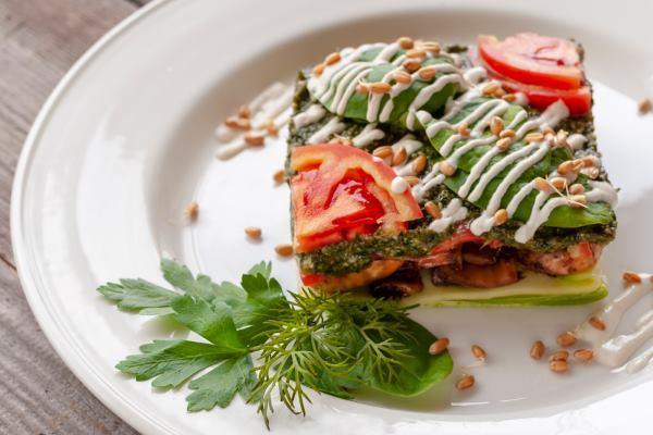 receita de lasanha vegana