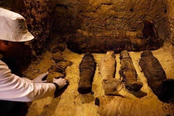 mumias achadas Egito