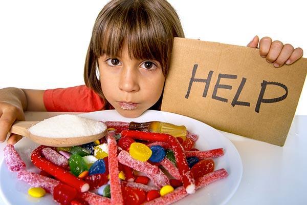 Açúcar crianças