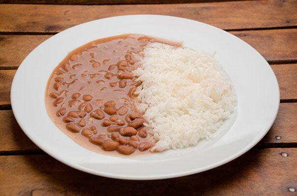 arroz feijao
