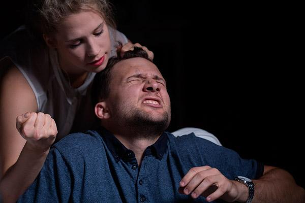Violência doméstica contra homens