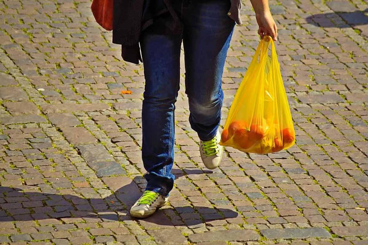 sacolinha plástica