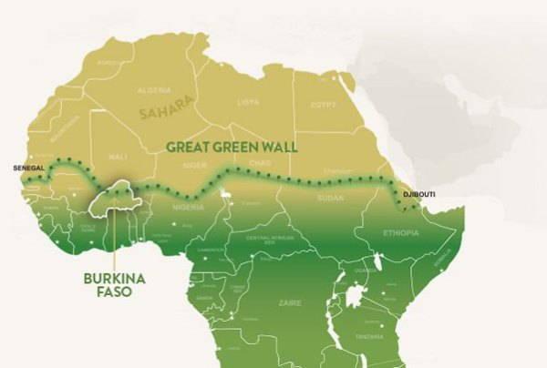 muralha verde mapa
