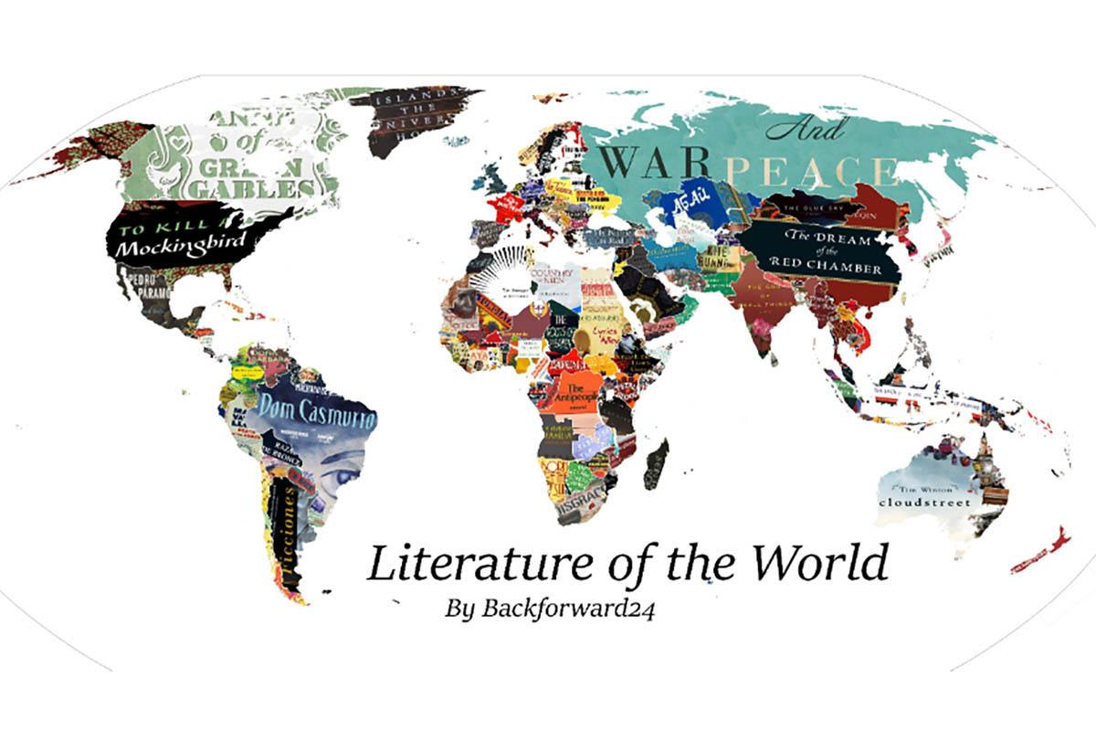 Mapa-múndi literário