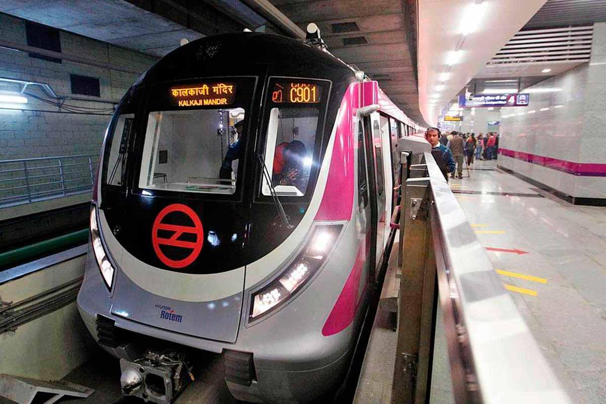 metrô Delhi