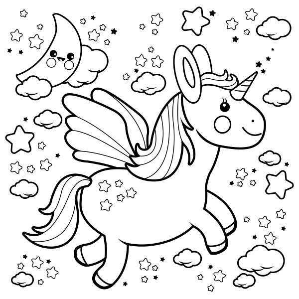 unicornio imagens colorir 4