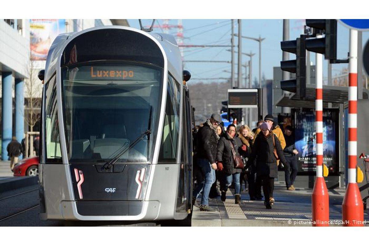 Luxemburgo transporte público gratuito