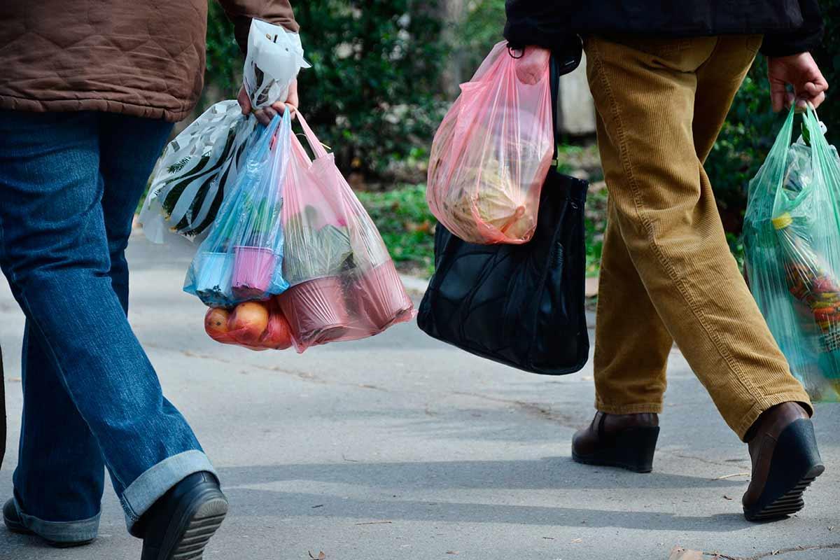 sacolas plásticas
