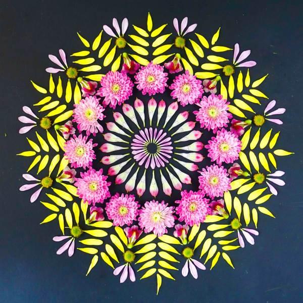 mandala flores 15