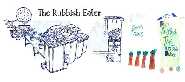 rubbish eater
