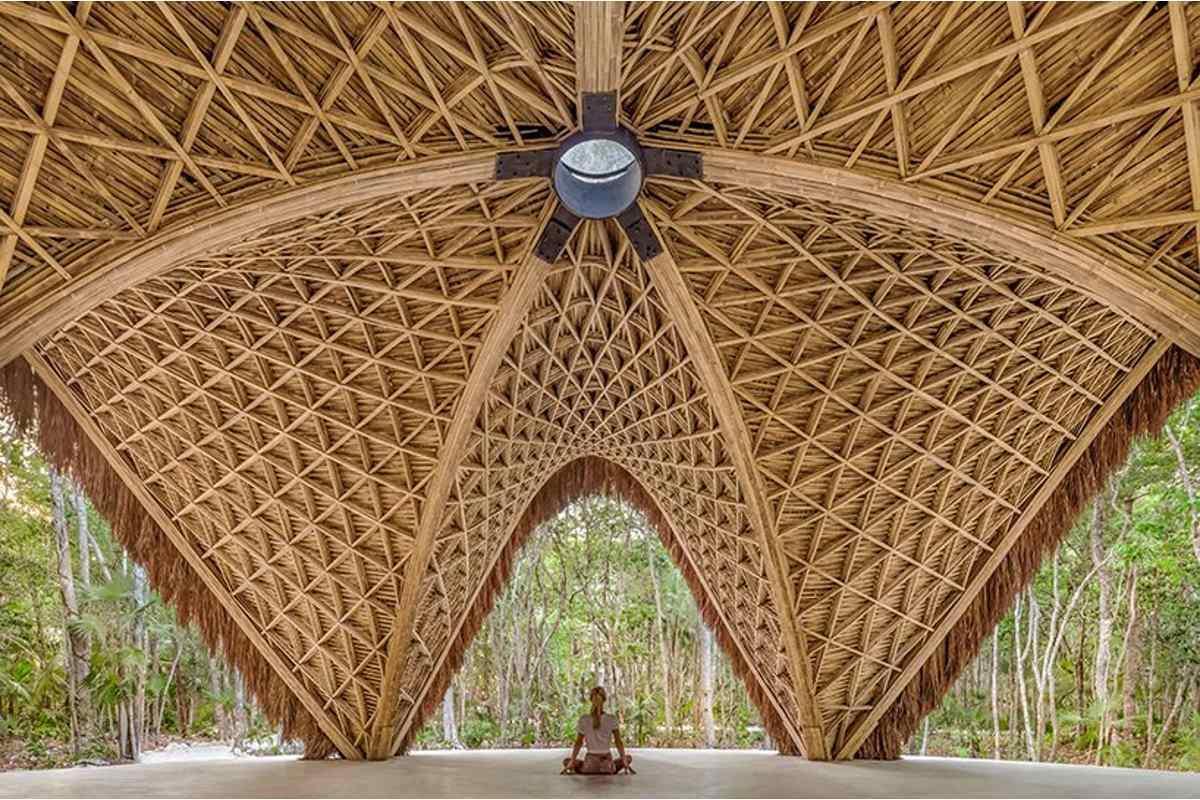 templo de bambu