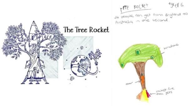 tree rocket