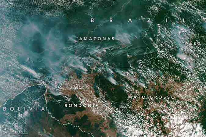 amazonia chamas nasa