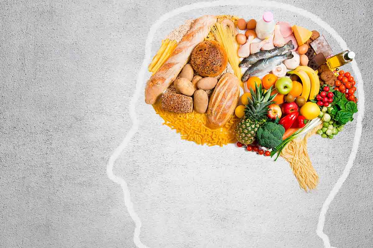 cérebro-alimentação
