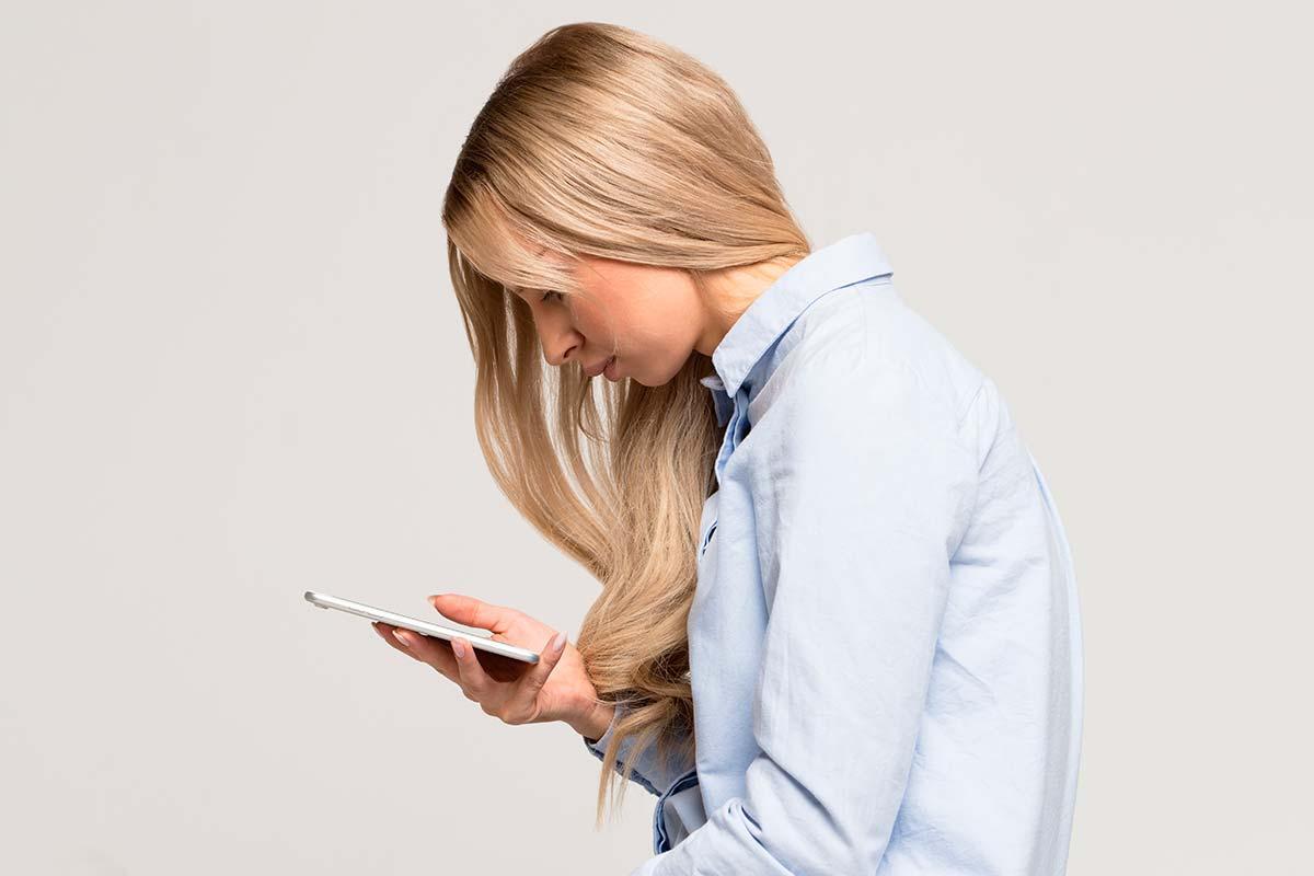 Pescoço de SMS