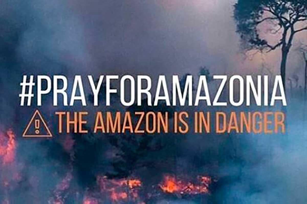 #PrayForAmazonas