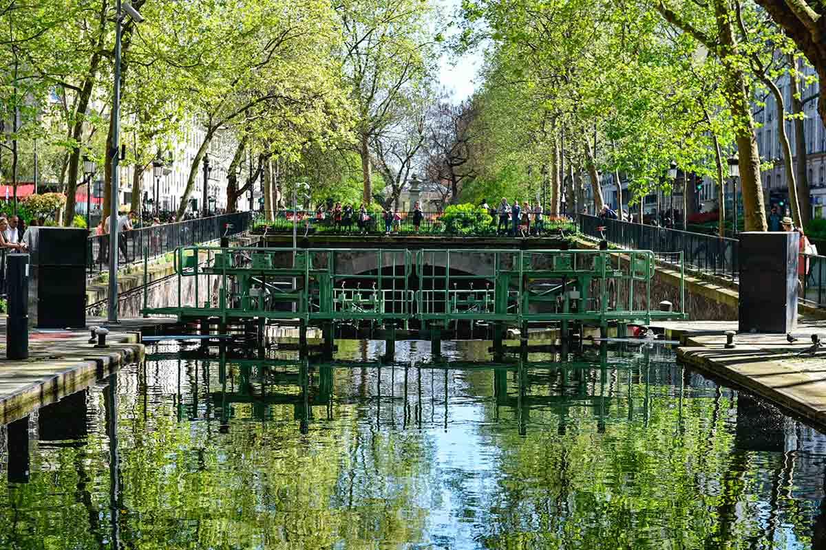 Canal de Saint-Martin- Paris