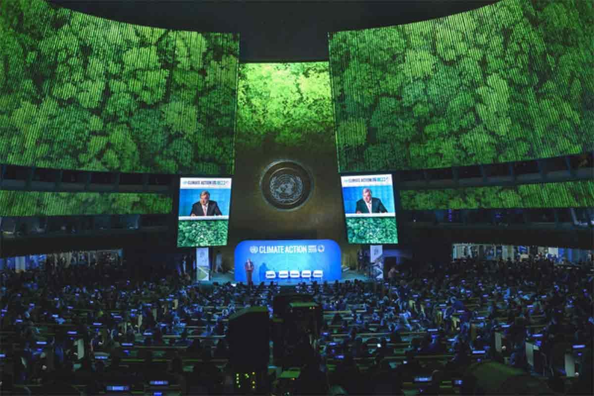Cúpula Clima ONU