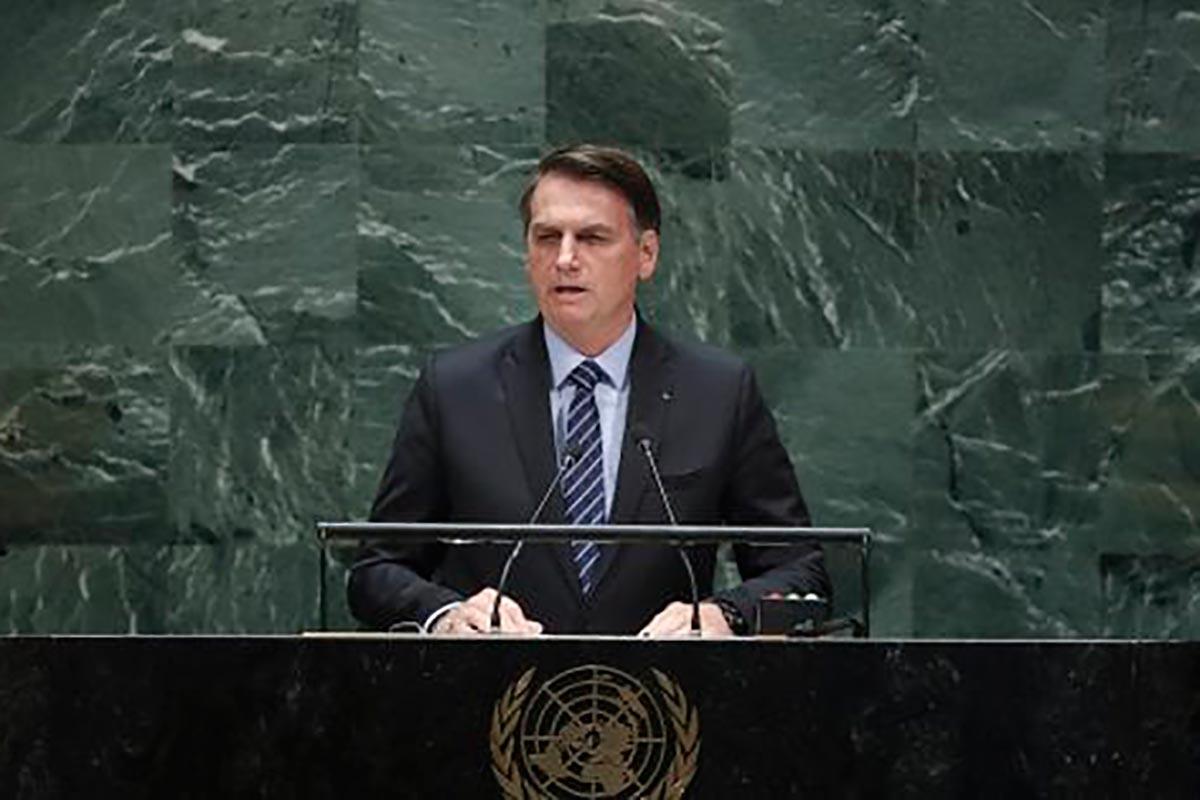 discurso de Bolsonaro ONU