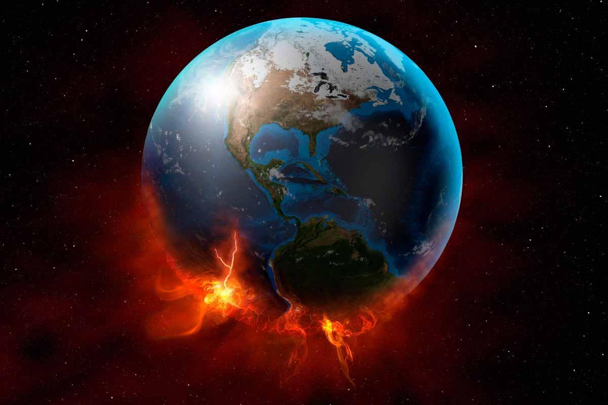 Terra em chamas
