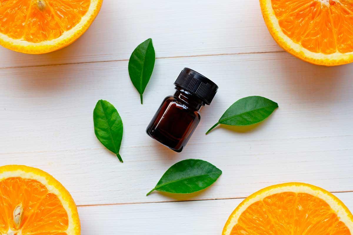 Óleo essencial de laranja