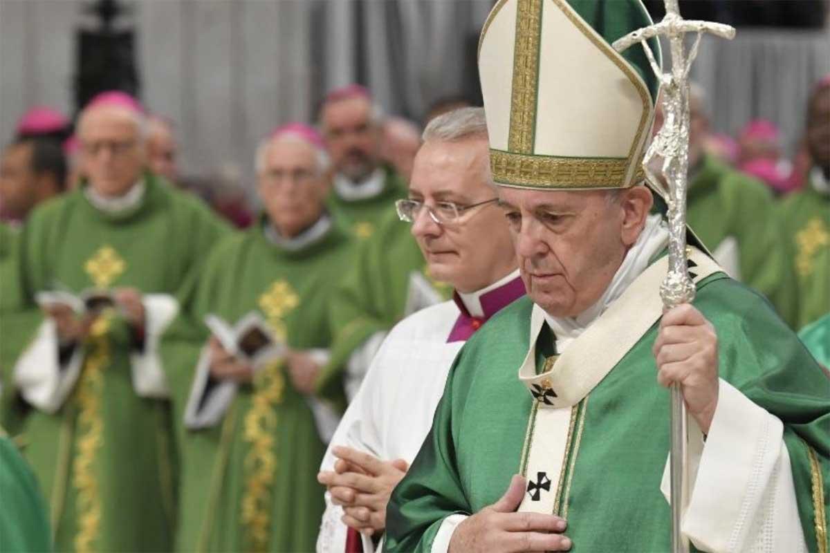 Papa sínodo Amazônia