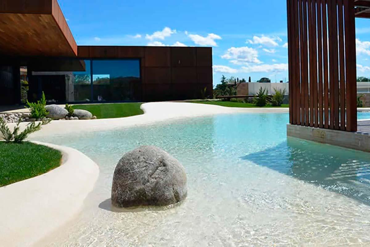 piscina areia