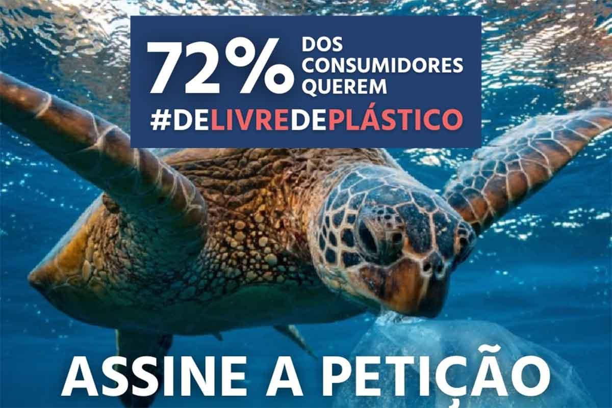 Assine a petição e peça um delivery sem plástico descartável